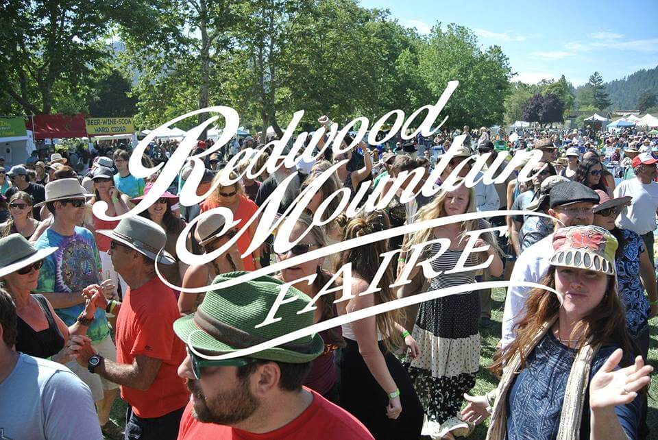 redwood mountain faire. santa cruz, midtown social, felton, music, band