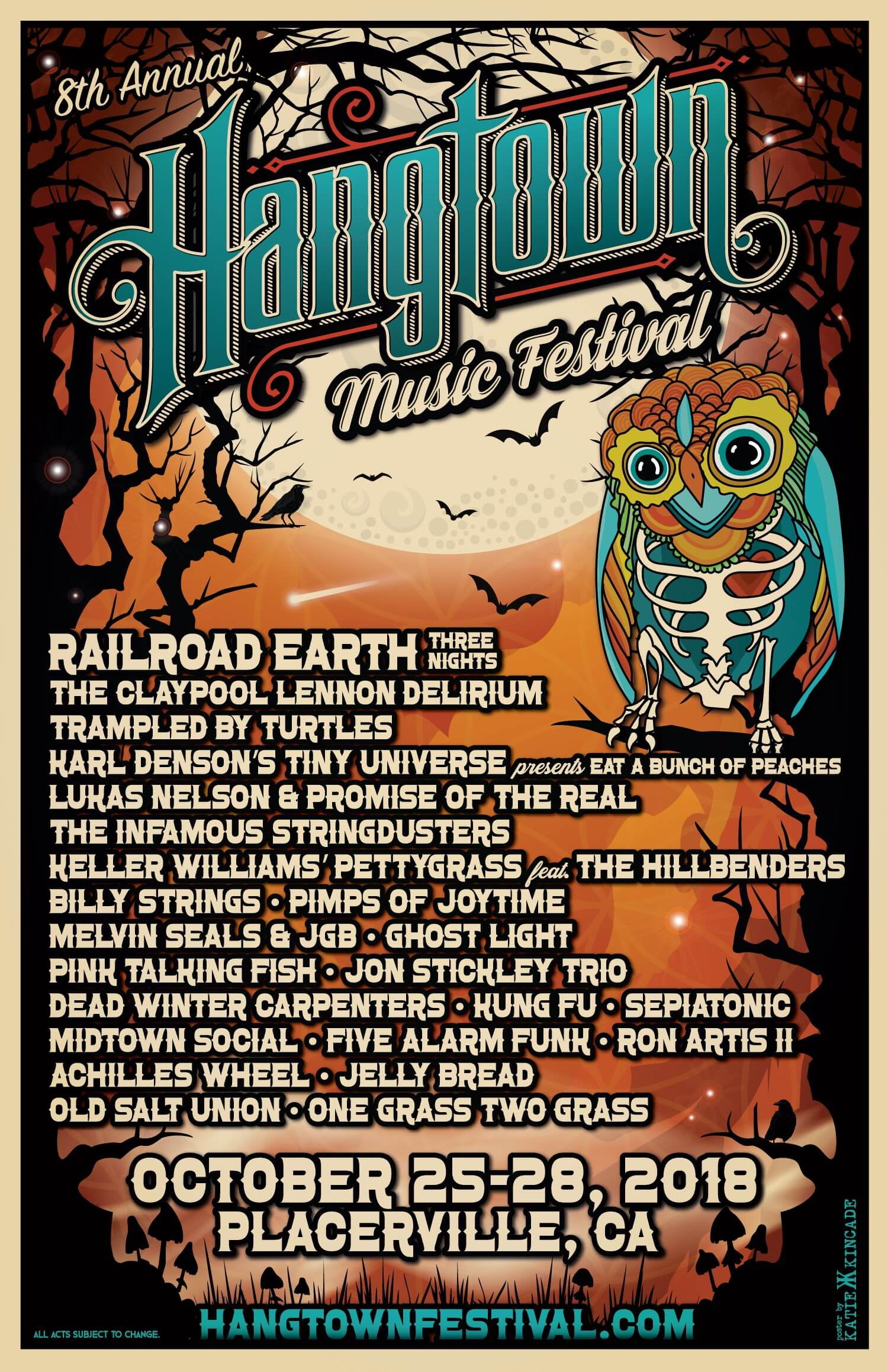 midtown social, hangtown, hang town music festival, railroad earth, placerville, music, 2018