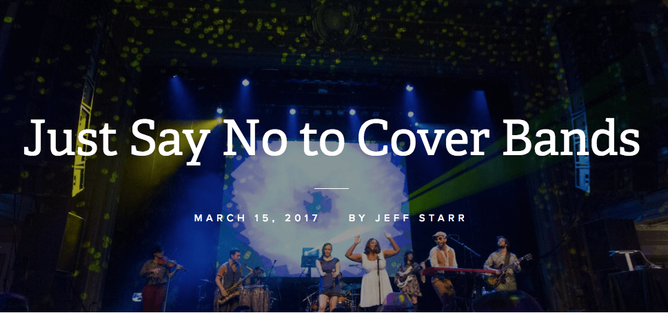 trademark events, midtown social, just say no to cover bands