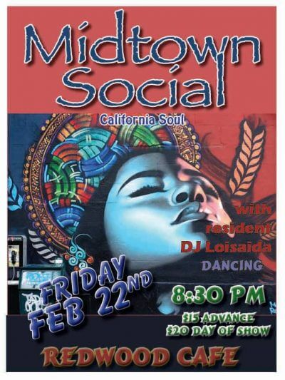 midtown social, cotati, redwood cafe, DJ Loisaida