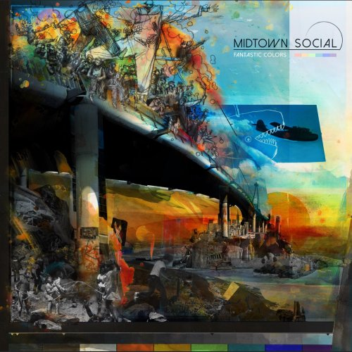 Fantastic Colors Album Art Cover midtown social