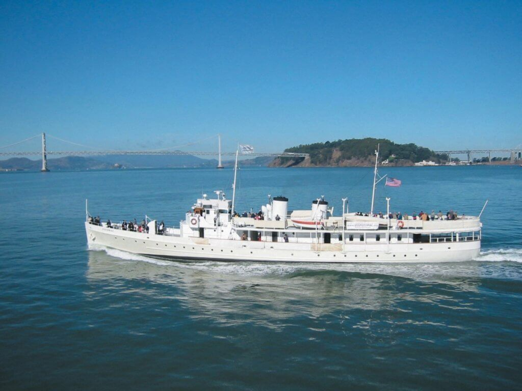 midtown social, potomac, bay cruise, san francisco, oakland, boaty party